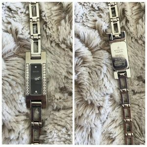 GUCCI 3900L LADIES WATCH DIAMONDS/STAINLESS STEEL
